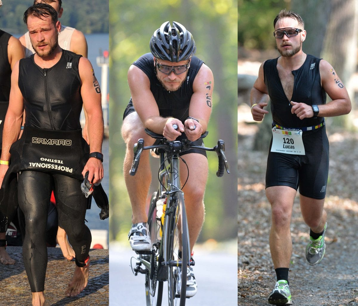 Triathlon IronMan BerlinMan Mitteldistanz