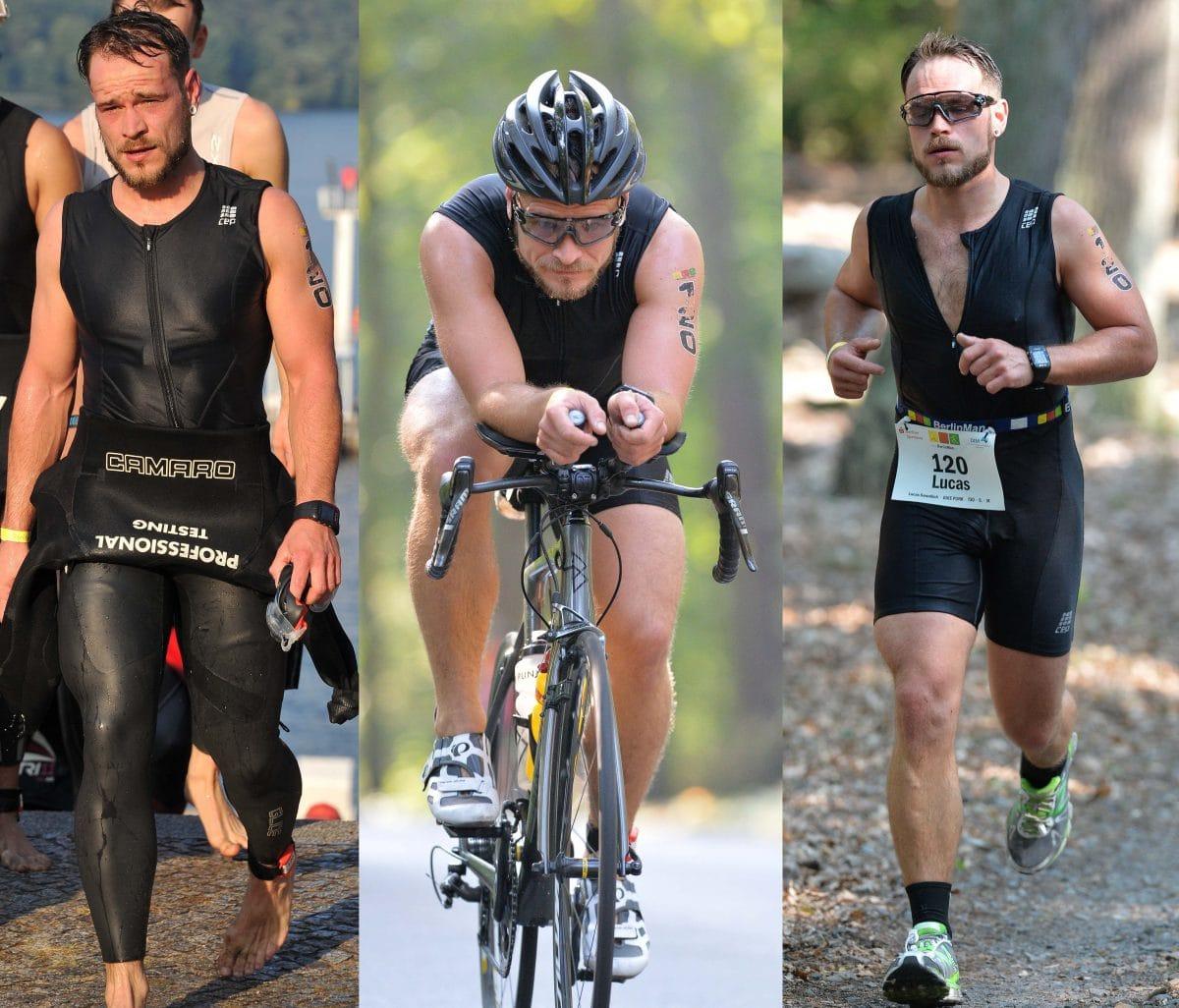 Triathlon IronMan BerlinMan Mitteldistanz