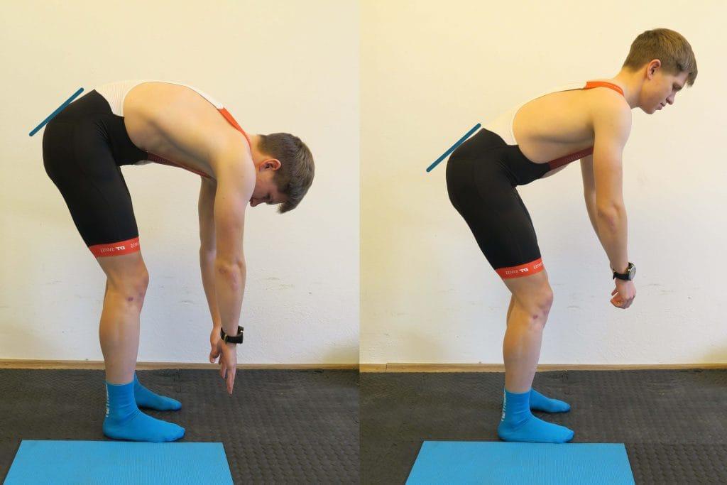 Hüftflexibilität bestimmt Rennrad Sitzposition