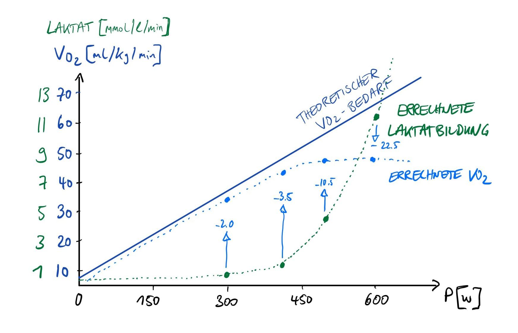 Inscyd Berechnung der Laktatbildungsrate